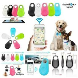 1*Mini Bluetooth GPS Tracker Collar For Dogs Cat Anti-Lost P