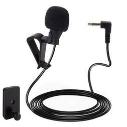 Microphone 2.5mm For Car Stereo Audio GPS DVD Bluetooth Enab