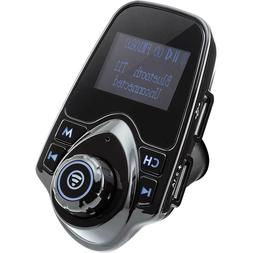 CAR AND DRIVER 4072BK BLUETOOTH FM TRANSMITTER WITH DUAL USB