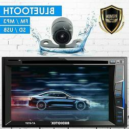 """6.2"""" 2DIN Car Radio Stereo CD DVD Player Bluetooth Touchscre"""