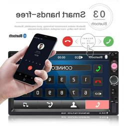 7 inch dual 7023B 2 DIN car FM stereo radio MP5 player touch