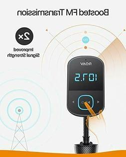 Anker Roav SmartCharge T1 Bluetooth FM Transmitter Car Audio