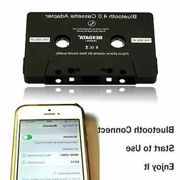 Audio Bluetooth 4.0 Wireless Cassette Adapter Receiver for C