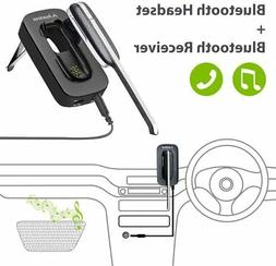 Avantree Handsfree Wireless Headset & Car Bluetooth Receiver