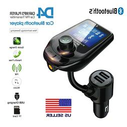 Bluetooth Car FM Transmitter MP3 Player Hands free Radio Ada