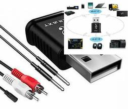Bluetooth Transmitter Receiver for TV PC Car Xbox Projector