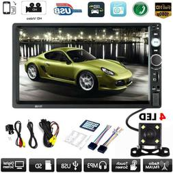 """Car MP5 Player 7"""" Double 2DIN Bluetooth Touch Screen Stereo"""