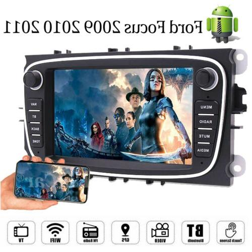 """7"""" Smart Android 10.0 4G WiFi Double 2DIN Car Radio Stereo G"""