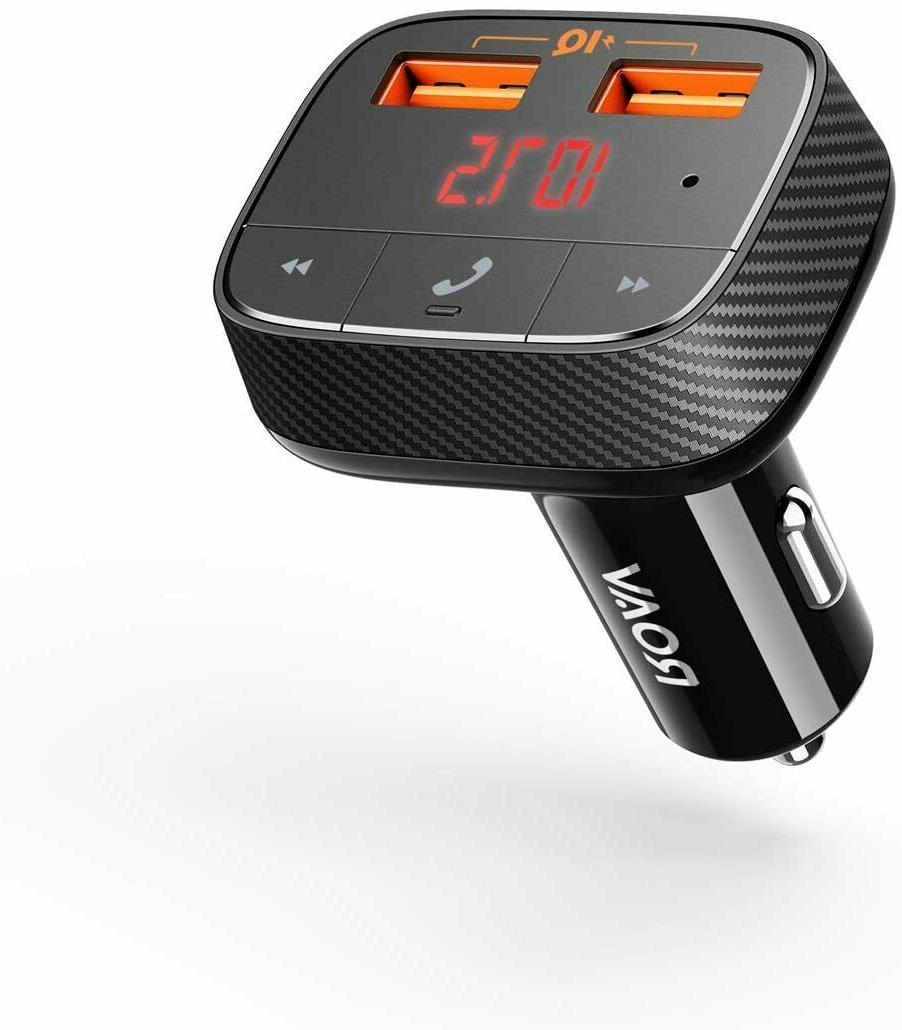 Roav SmartCharge F0, by Anker, Bluetooth FM Transmitter, Rec