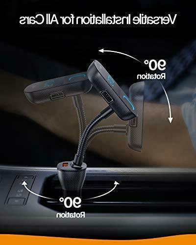 Anker Roav Bluetooth FM Transmitter Audio Receiver