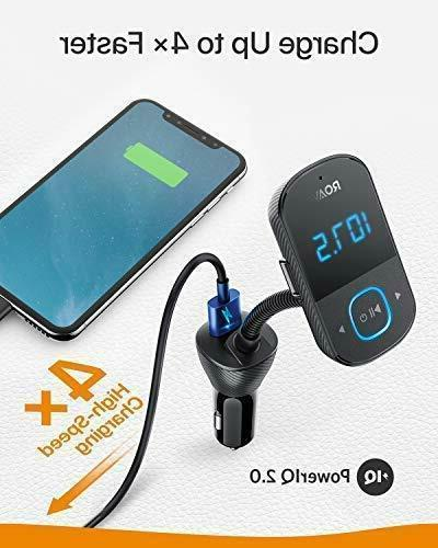 Anker Roav Bluetooth FM Transmitter Car Audio