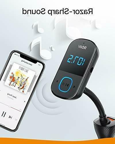 Anker Roav SmartCharge Bluetooth Audio Adapter Receiver