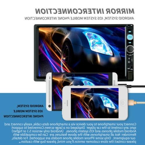 Car Player Double Screen Radio AUX