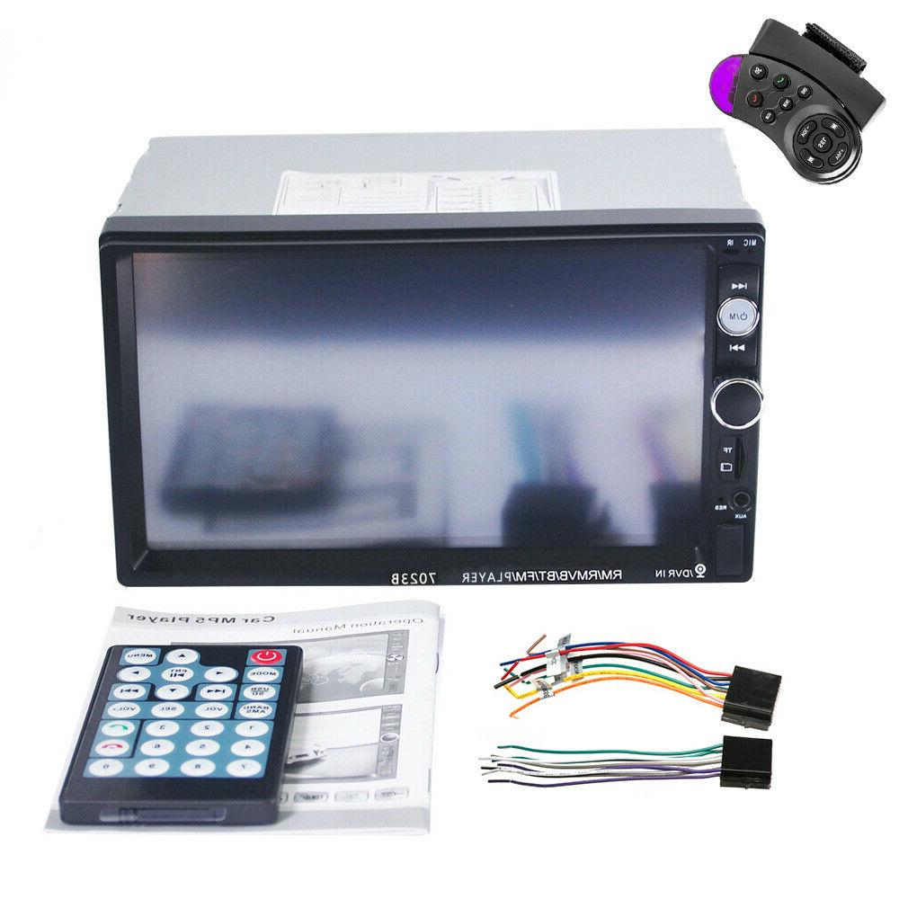 Double Din USB FM IOS/Android Mirror
