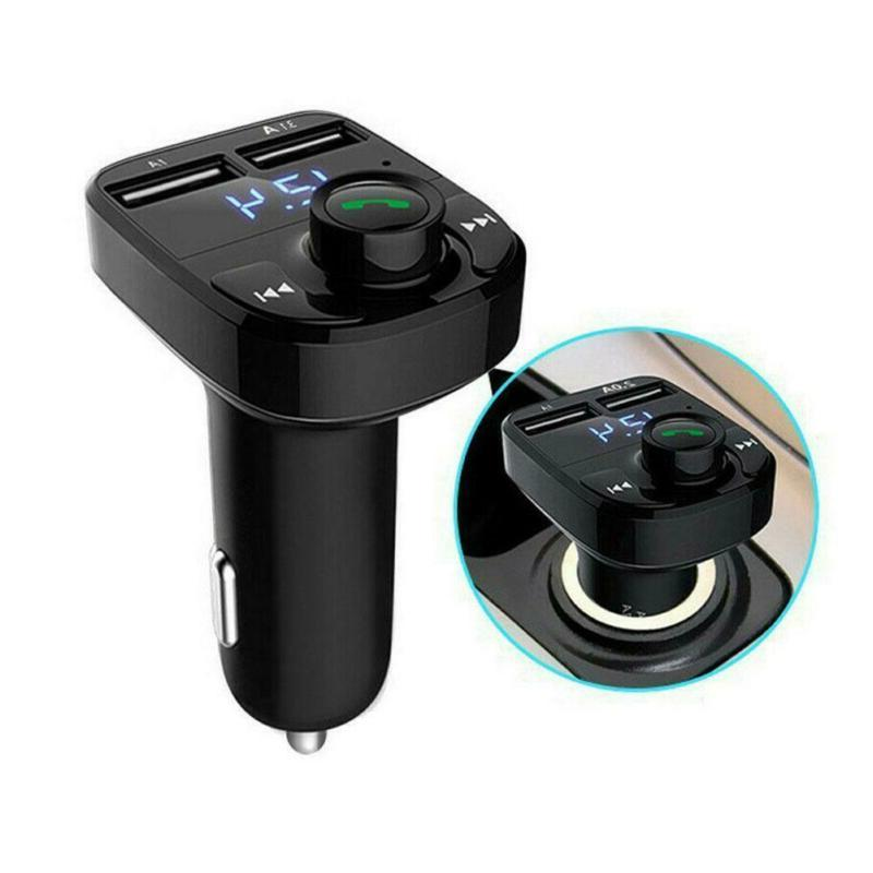 Wireless Car Dual USB Charger