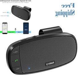 Nulaxy Car Bluetooth Speakerphone, Loud Speaker Bluetooth Ha