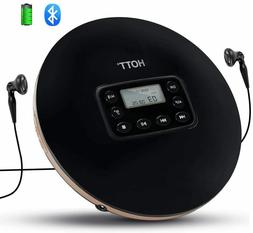 Rechargeable Bluetooth Portable CD Player for Home Travel an