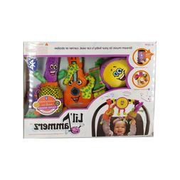 Lil Jammerz Set of 3 Plush Baby Toys with Bluetooth Speaker
