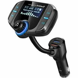 Upgraded Version Bluetooth FM Transmitter, Sumind Wireless R