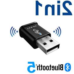 USB Bluetooth 5.0 Audio Transmitter Receiver Adapter Fits TV